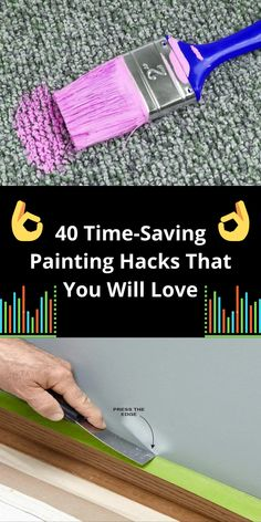 Painting Walls, Painting Tips, Simple Life Hacks, Useful Life Hacks, Diy Cleaning Products, Cleaning Hacks, Daily Hacks, Handy Man, Kitchen Wall Colors