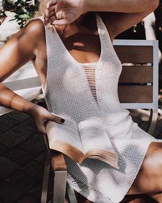 15c50ba91a2 enjoy life. Bikini Cover UpSwimwear Cover UpsSwimsuit CoverWhite Beach ...