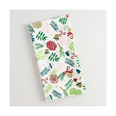 Cost Plus World Market Alpine Branches Kitchen Towel ($5.99) ❤ liked on Polyvore featuring home, kitchen & dining, kitchen linens, multi, cost plus world market, red tea towels and red kitchen towels