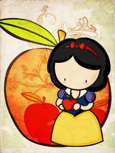 Blancanieves, cómo no hacer un dibujo de ella? a mi parecer, ella es la princesa de Disney más conocida x3 Espero que les guste n_n bueno, credits: textura de ~bashcorpo y brushes de ~missfairytaled