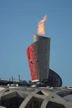 Olympic Cauldron - Beijing, China - 2008 Summer Olympic Games