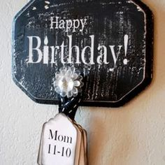 So Functional and adorable!!  Keep track of everyone's b-days!!  :)