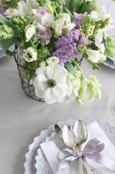 Flowers perfect for a beautiful table setting