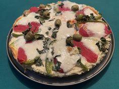 Pizza de pommes de terre et mozzarella 8💚💙5💜 Pizza, Mozzarella, Quiche, Camembert Cheese, Breakfast, Voici, Food, Kitchens, Zucchini