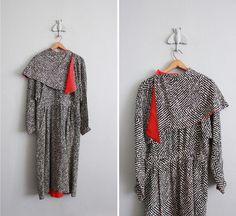 vintage Chloe kaleidoscope silk dress by allencompany on Etsy, $395.00