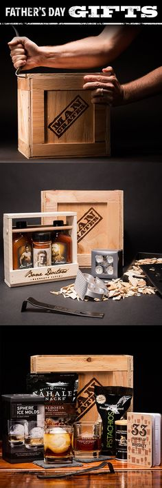 Whiskey gear? Grilling gear? Perfect Father's Day gifts for dad. [Sp]