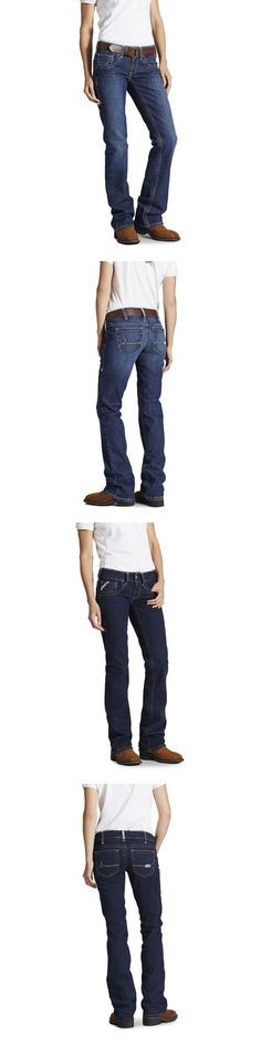 Pants and Shorts 163525: Ariat Fr Women S Mid Rise Boot Cut Jean -> BUY IT NOW ONLY: $89.99 on eBay!