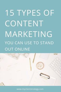 Do you find yourself coming to a complete standstill when trying to work out what types of content marketing to create for social media? Or, do you feel like you're creating endless amounts of content, but don't feel like you're standing out online? Well, you're not alone. Nearly all small business owners struggle with social media content at some point. In this blog post, I outline 15 types of content marketing you can use to stand out online.