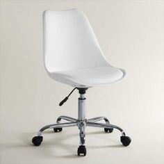 White Emerson Office Chair