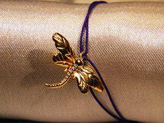Kabbalah bracelet with a gold plated pendant   Facebook.com/PinguBiju