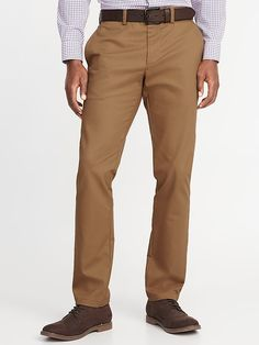 new style 7bcb2 96463 Old Navy Men s Slim Built-In Flex Non-Iron Ultimate Pants Doe A Deer Size  44W. Athletic FashionShop ...