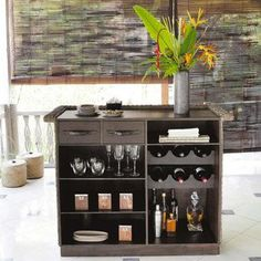 Small Home Bar Ideas And Modern Furniture For Home Bars For The Dining  Room  With A Big Mirror Above It