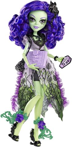 Amazon.com: Monster High Amanita Nightshade Doll: Toys & Games