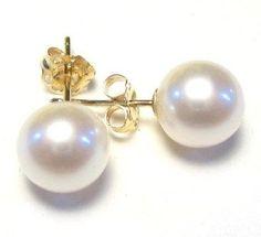 7 7 5 mm aaa akoya blanc perle 14 k jaune ou 14 k