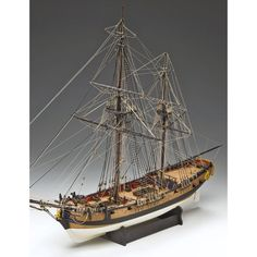 Granado 1:64 Amati Model Ship Kit Model Ship Kits, Model Ships, Granada, Sailing Ships, Concept Ships, Grenada, Sailboat, Tall Ships
