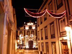 Euromassa Natal , abertura da iluminação de natal em ponta delgada 13/11...