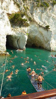 Swim in Zante, Greece