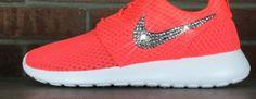 #esty #run #shoes Bling Nike Roshe Run With Swarovski Crystal Rhinestones Glitter Shoes    #discountfreesrunning #nikerosheshoes #nike #roshe #shoes #running #shoes #frees