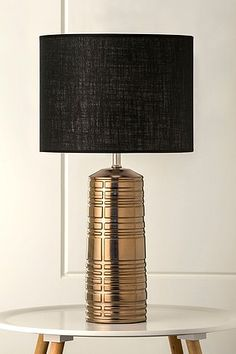 Table Lamps Au: The Gizmo Table lamp... a striking textural geometric copper lamp complete  with Australian,Lighting
