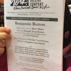 #benjaminbuttonthemusical  #developmentalreading #yorktheatrecompany