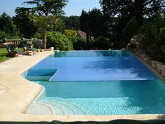 Automatic Slatted Cover from pool pit