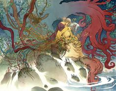 Muddy Colors: Into the Green: The Art of Charles Vess