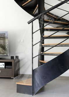 1000 images about escaliers on pinterest metals stairs and mezzanine for Interieur contemporain