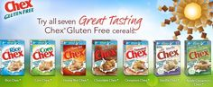 What's your favorite gluten free cereal and why? Simply comment with your answers on this post and Enter for a chance to be one of FIVE winners for this Chex Hosted Giveaway!