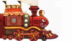 Concept art of the bullet Bill Train from the official artwork set for #SuperMario3DWorld on #WiiU. #Mario #SuperMario http://www.superluigibros.com/super-mario-3d-world