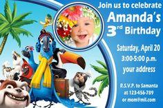 Rio Birthday Invitation- SB53
