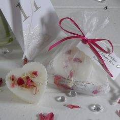 5 x Cherry Blossom Wax Melt Wedding Favours