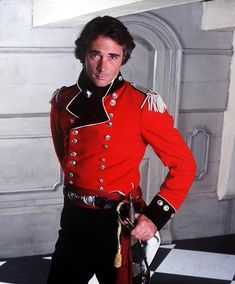 """""""Your mother said it would be all right,"""" replied the older man mildly, but stubbed it out anyway. This pic - Greg Wise as Major Cottard in the Horatio Hornblower movies. GW also played Willoughby in Sense and Sensibility. Greg Wise, Charlie Carver, Master And Commander, Pirate Adventure, Emma Thompson, Hot Flashes, Men In Uniform, Historical Clothing, Historical Romance"""