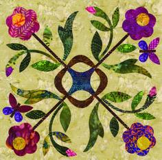 Siluety - Spring Bouquet Block 08