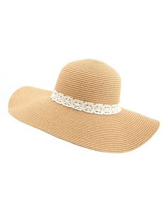 Crochet Band Floppy Hat: the ESSENTIAL hat for Summer! (and only $12.99)