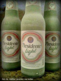 """Presidente Light, Dominican beer. """"VESTIDA DE NOVIA"""""""