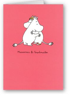 moomintroll and snorkmaiden