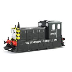 Thomas & Friends Mavis Locomotive HO Scale Train by Bachmann, Multicolor