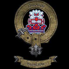 Hamilton Clan Shirt #hamilton #scotland #AATC