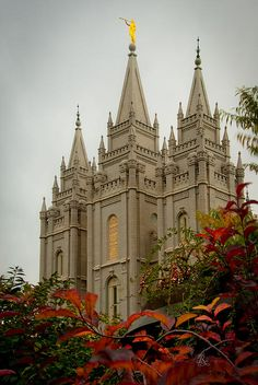 There is something that captivates people when they see this SLC, Utah, LDS (Mormon) Temple photograph as it has sold more prints than any other.  I love this view through the red leaves and red berries as you look up to the temple spires and golden carving that says Holiness to the Lord.
