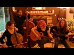 "The band is Allison Crowe (vocals, piano, guitar, bodhran, fiddle) and her bandmates: Billie Woods (guitar, vocals); Celine Greb (cello, vocals); Sarah White (multi-instrumentalist); & Dave Baird (bass, vocals).  The group's hybrid of Canadiana, Celtic, jazz, roots, folk, soul and original rock delivers on Allison's mission to make ""Soulful. Alive. Joyous. Grievous. Real, true, music"".  Here's a sample of what's cooking as we  join Allison, Billie, Celine & Dave at home with ""You All Haunt…"