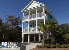 Surfside Beach Rental Beach Home: Turtle Time   Myrtle Beach Vacation Rentals by Dunes Realty