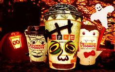 dunkin donuts halloween campaign