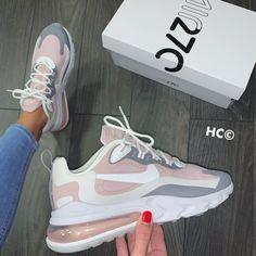 AirNike Air Max 270 ReactNew and Mega Balenciaga Sneakers Outfit Air AirNike Max Mega ReactNew All Nike Shoes, Hype Shoes, Kd Shoes, Asos Shoes, Shoes Style, Running Shoes, Shoes Tennis, Nike Shoes Outfits, Walking Shoes
