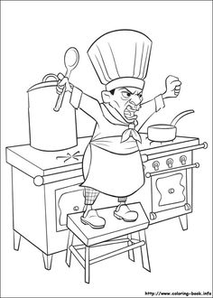 awesome ratatouille-38 coloring page Check more at http://www.mcoloring.com/index.php/2015/11/01/ratatouille-38-coloring-page/