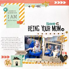 Scrapbook Layouts, Cards, and other Crafts by Ginger Williams