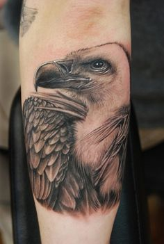 A black and grey tattoo piece of a bald eagle by artist Shane O'Neill. Love Tattoos, Tattoo You, Tattoos For Women, Tatoos, Awesome Tattoos, Worlds Best Tattoos, Ink Master, Inked Magazine, First Tattoo