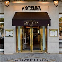 Yummmm... best hot chocolate at Angelina's          226 Rue de Rivoli, across from the Tuileries