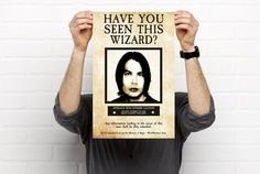 Harry Potter Have You Seen This Wizard/Witch Prisoner of Azkaban Poster - Personalized -DIGITAL COPY- Perfect Gift for any Harry Potter Fan!