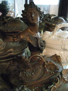 french bronze artifacts....