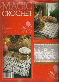 Magic Crochet Magazine Thread crochet patterns